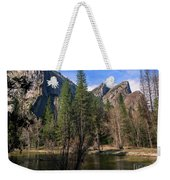 Three Brothers, Yosemite National Park Weekender Tote Bag