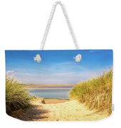 Through The Dunes Over To Budle Bay Weekender Tote Bag