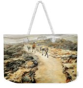 Through The Lava Field Weekender Tote Bag