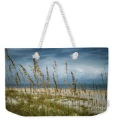 Through The Sea Oats Weekender Tote Bag by Judy Hall-Folde