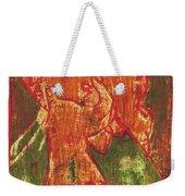 Thumb Cheek Girl 5 Weekender Tote Bag