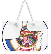 Thumbs Up Minnesota Weekender Tote Bag