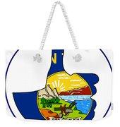 Thumbs Up Montana Weekender Tote Bag