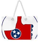 Thumbs Up Tennessee Weekender Tote Bag