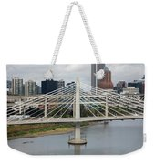 Tilikum Crossing, Portland, Oregon, Usa Weekender Tote Bag