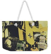 Tin Sign Toys Weekender Tote Bag