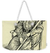 Tiny Tim From A Christmas Carol By Charles Dickens Weekender Tote Bag