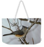 Titmouse Winter Morning Cutie  Weekender Tote Bag