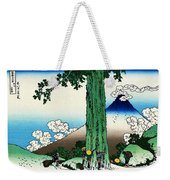 Top Quality Art - Mt,fuji36view-koshu Mishimagoe Weekender Tote Bag
