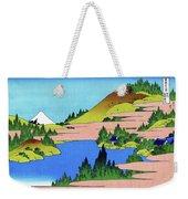 Top Quality Art - Mt,fuji36view-soshu Hakone Kosui Weekender Tote Bag