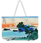 Top Quality Art - Mt,fuji36view-soshu Shichirigahama Weekender Tote Bag