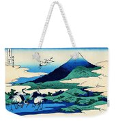 Top Quality Art - Mt,fuji36view-soshu Umezawanosho Weekender Tote Bag