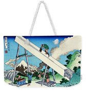 Top Quality Art - Mt,fuji36view-toutoumi In The Mountains Weekender Tote Bag