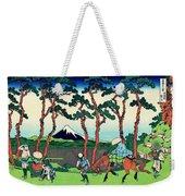 Top Quality Art - Tokaido Hodogaya Weekender Tote Bag
