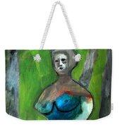 Topless Woman In A Park Weekender Tote Bag