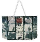Torn Squares Collage Weekender Tote Bag
