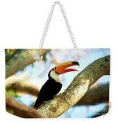 Toucan On A Tree Weekender Tote Bag