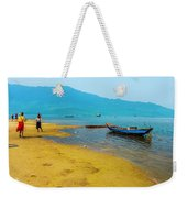 Tourists In Lang Co 2 - Hue, Vietnam Weekender Tote Bag