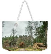Track Through The Wood Weekender Tote Bag by Nick Bywater