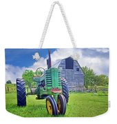 Tractor - On The Farm Weekender Tote Bag