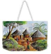 Traditional Village Weekender Tote Bag
