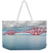 Train Bridge - Forth Of Fifth Weekender Tote Bag