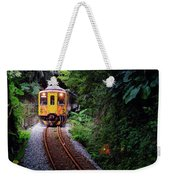 Train With Tunnel Of Pingxi Line, Taiwan Weekender Tote Bag