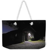 Trapp Family Lodge Cabin Sunrise Stowe Vermont Photo Weekender Tote Bag