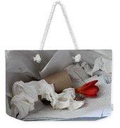 Trash Flower Weekender Tote Bag