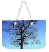 Tree And Great Lake Weekender Tote Bag