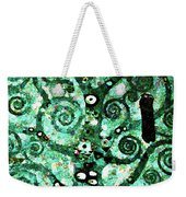 Tree Of Life Abstract Expressionism Weekender Tote Bag