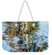 Tree Reflection Abstract Weekender Tote Bag by Kate Brown