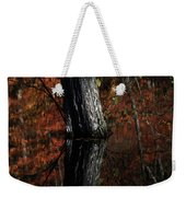 Tree Reflects In The Pond Weekender Tote Bag