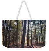 Trees And Shadows  Weekender Tote Bag
