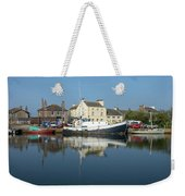 Trefusis Gy242 At Glasson Dock Weekender Tote Bag