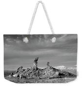 Tres Marias Black And White Moon Valley Chile Weekender Tote Bag