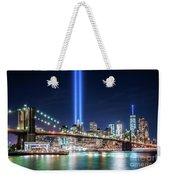 Tribute In Light From Brooklyn 1 Weekender Tote Bag