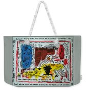 Tribute To Basquiat, Philosophy, And Activism Weekender Tote Bag