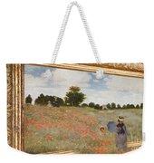 Tribute To Claude Monet Weekender Tote Bag