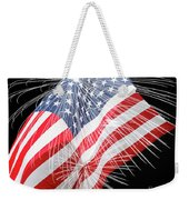 Tribute To The Usa Weekender Tote Bag