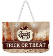 Trick Or Treat Weekender Tote Bag