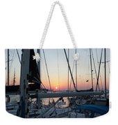 Trieste Sunset Weekender Tote Bag by Helga Novelli