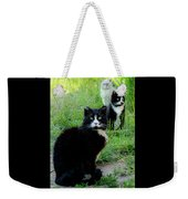 Trio In The Grass Weekender Tote Bag