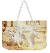 Triton And Horse Weekender Tote Bag