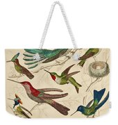 Trochilus - Hummingbirds Weekender Tote Bag