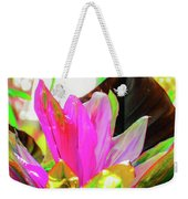 Tropic Hawaii - Ti Leaf Plant Weekender Tote Bag
