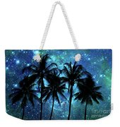 Tropical Night Weekender Tote Bag