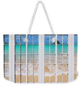Tropical Paradise Beach Day Windows Weekender Tote Bag