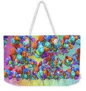 Tropical Print Balloons Weekender Tote Bag