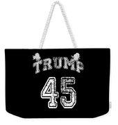 Trump 45 Weekender Tote Bag